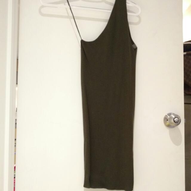 Zara Bodycon Dress Knit