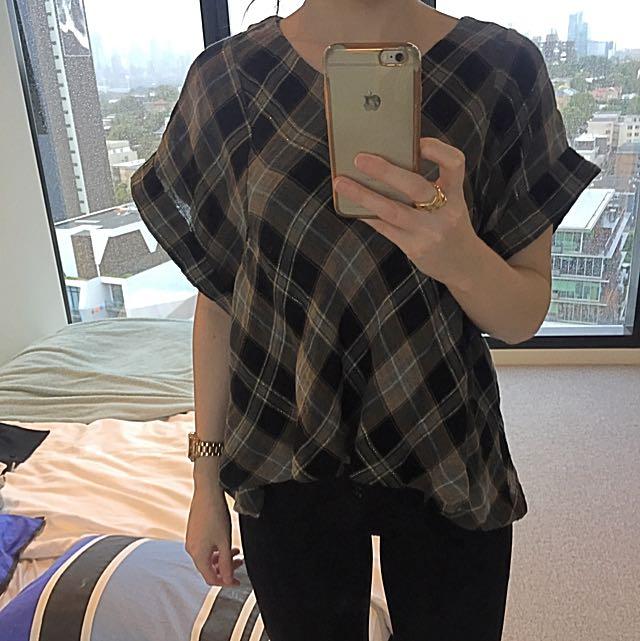 Zara Oversized Top - Size XS