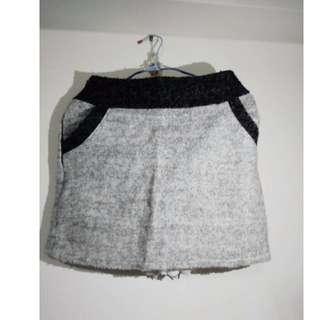 日系店轉賣包臀雙口袋洋裝s號 灰款 原價590 先殺100