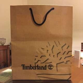 Timberland 牛皮紙袋