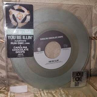 "Run DMC / Carolina Chocolate Drops - You Be Illin' RSD Coloured 7"" Vinyl"