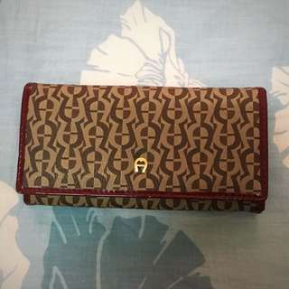 AIGNER INSPIRED LONG PURSE