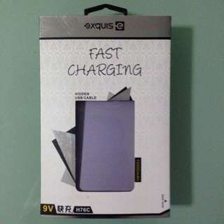 BN 10000mAh Lilac Purple Powerbank Charger