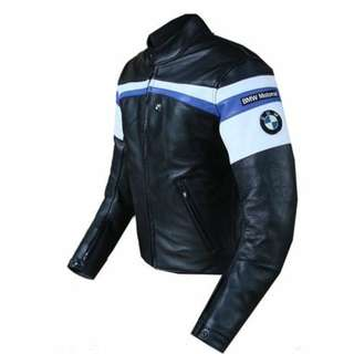 BMW Motorrad Leather Riding Jacket with paddings