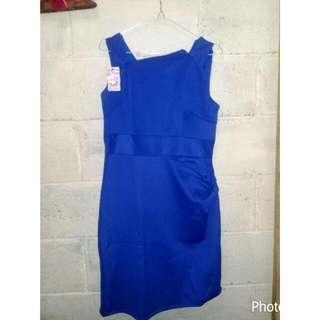 Dress Biru Murah 39.000 Rb BARU