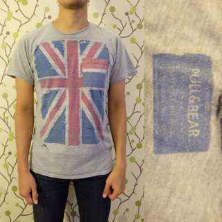 PULL & BEAR UK Flag Shirt