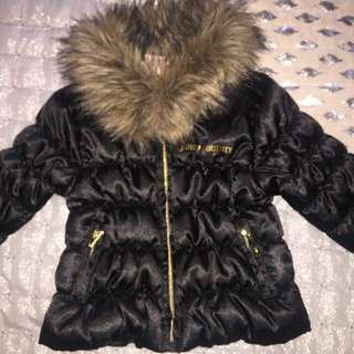 Juicy Couture Baby Coat Size 6-12 Months