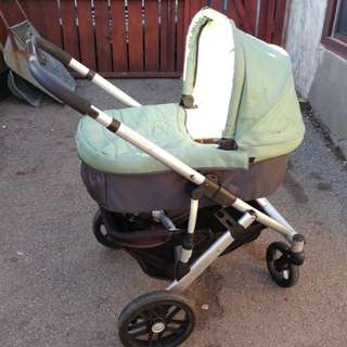 2010 Uppababy Stroller And Bassinet