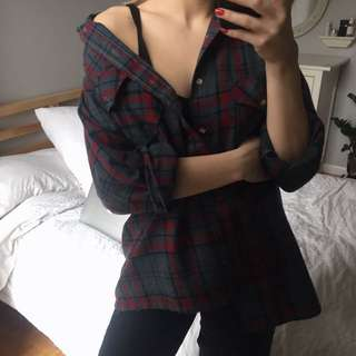 Vintage Flannel Redone By Brandy Melville