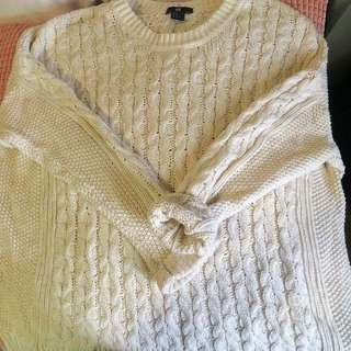 H&M Oversized Knitted Long Sleeve