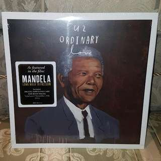 "U2 - Ordinary Love RSD 10"" Vinyl Record Nelson Mandela"