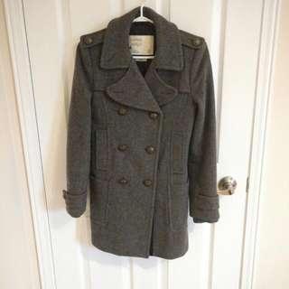 Aritzia Community Wool Coat XXS