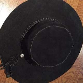 Vintage Suede Hat