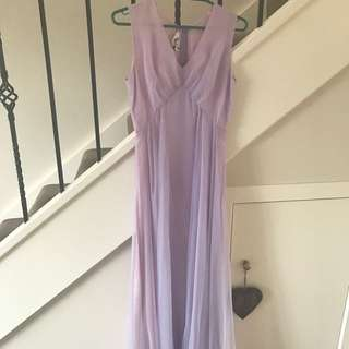 Vintage Purple Formal Dress