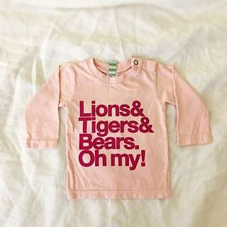 Well Spotted L/S Baby Tee