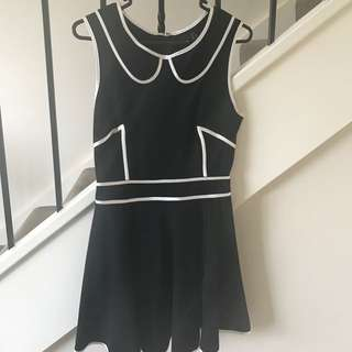 ASOS black & White Dress