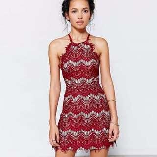 Rebecca Laced Halter Dress CNY