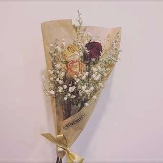 玫瑰乾燥花束