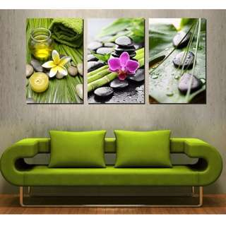 In Stock - Home Spa Canva Painting
