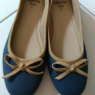 'Ballerina Flats' Flat Shoes