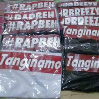 Rbreezy, Rapbhe and Tanginamo Shirt