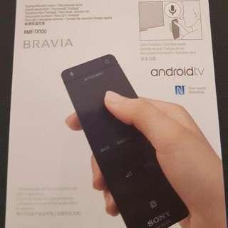 Sony Bravia Touchpad TV Remote Control (Model: RMF-TX100)