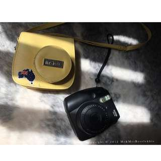 Instax Mini 8 Black with Case & 3 more films