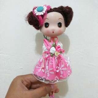 Pink Babydoll Bagcharm