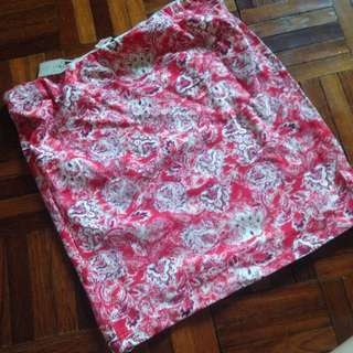 BNWT Bershka Floral Skirt