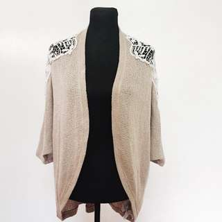 FOREVER 21 Laced Cardigan