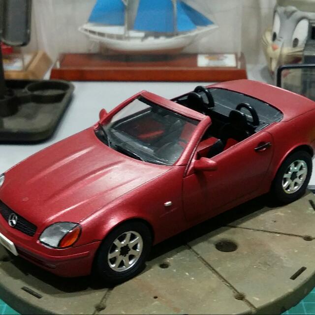 1:24 Tamiya Mercedes SLK