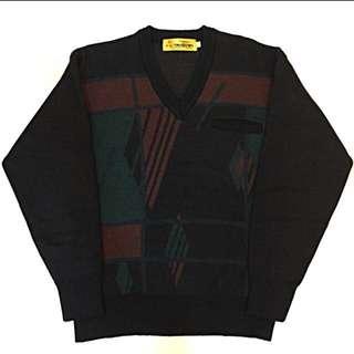 🔸幾何復古毛衣