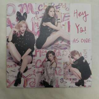 AS ONE CD