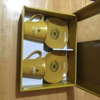 Nescafe Gold Cup & Saucers Set Of 2