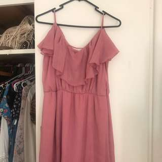 Jarlo Pink Maxi Dress