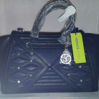 Versace Jeans leather Bag Is Genuine Imported from Italy