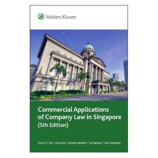 Company Law Textbook (Photocopied version!)