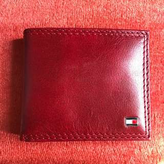 Lucky Red Tommy Leather Wallet