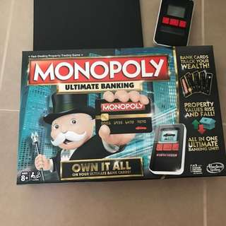 BRAND NEW MONOPOLY ULTIMATE BANKING BOARD GAME