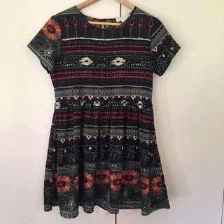 Hipster Dress Sz M
