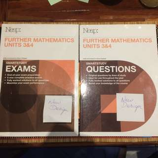 Neap Further Maths Unit 3&4 Exam And Questions