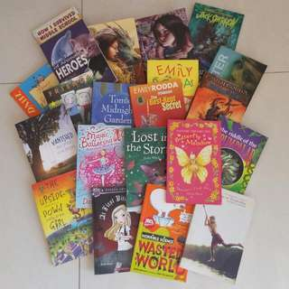 REDUCED Children's Books All Ages Fiction
