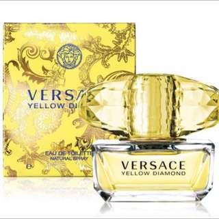 Versace凡賽斯Yellow Diamond香愛黃鑽淡香水5ml