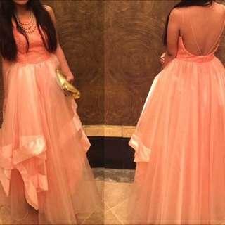 Peach Ball Gown