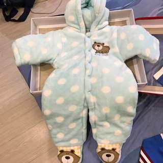 寶寶衣服厚的