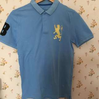 Giordano Polo Shirt Blue