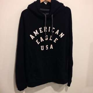 American Eagle 黑色帽t s號