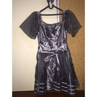 Dress Pesta / Dress Silver