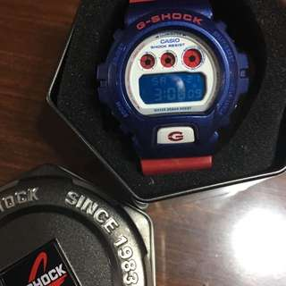 BNIB Casio G Shock Blue Red Watch