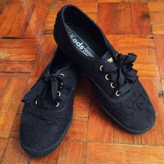 Black Lace Keds